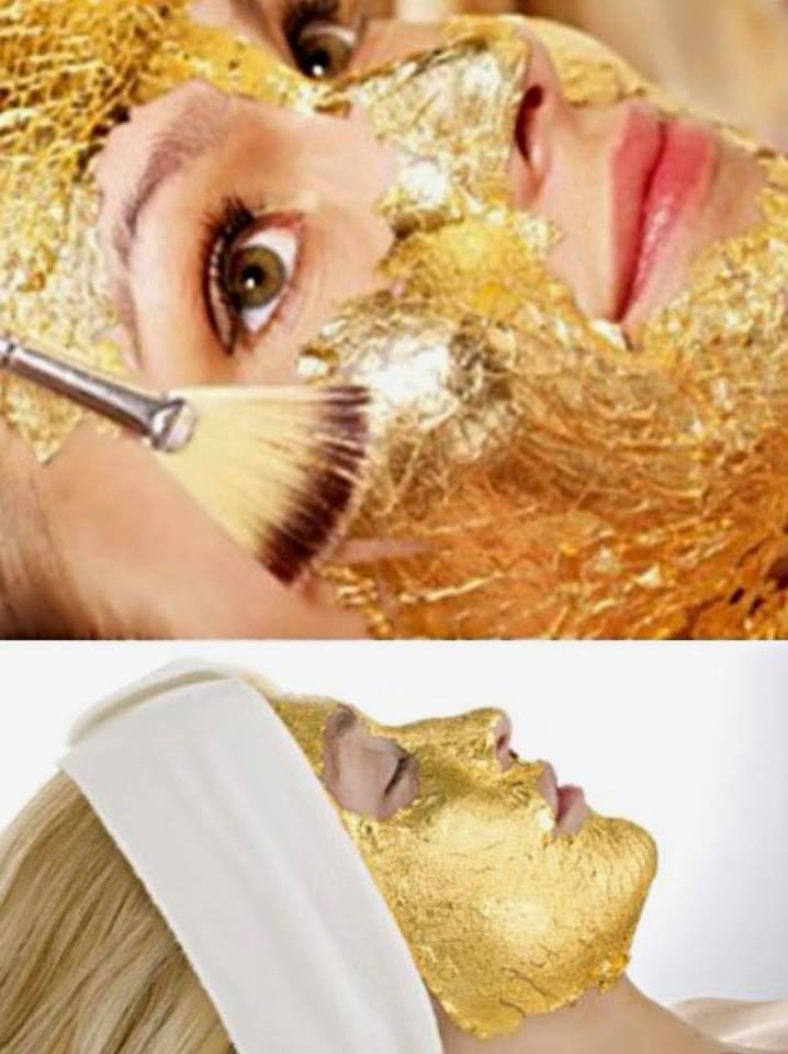 New 24kt Gold facial A luxurious treat.