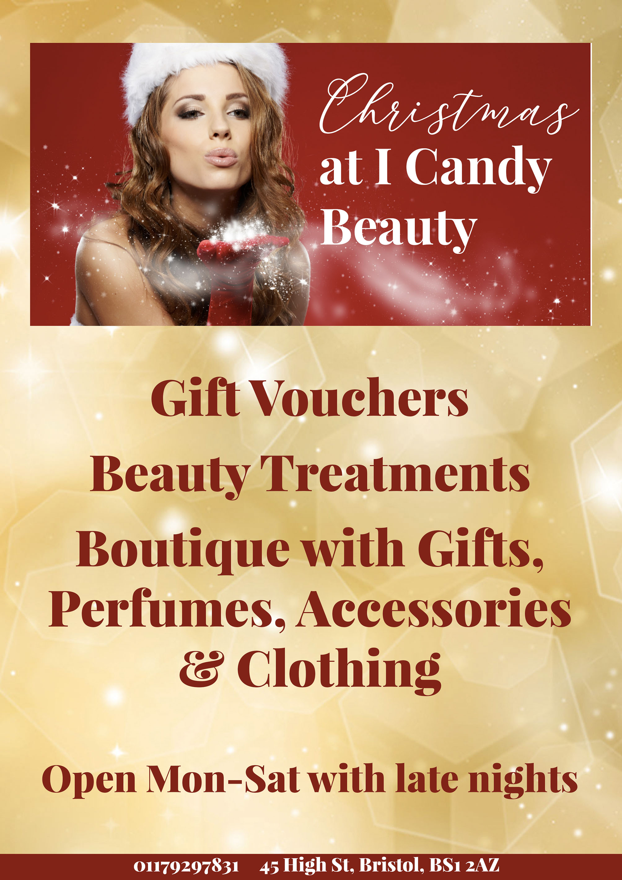 Christmas at I candy Beauty